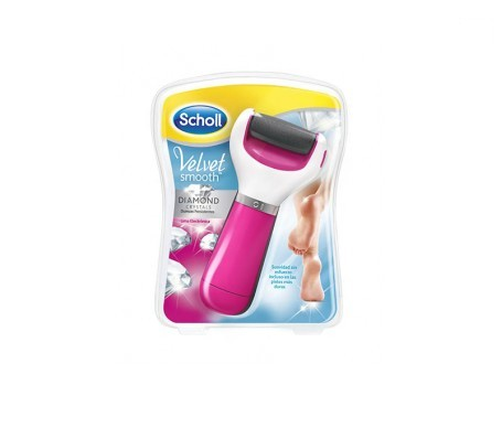 Scholl Velvet Smooth Diamond Crystals rosa 1ud