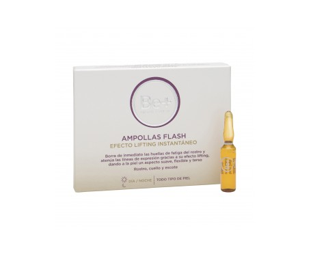 Be+ ampollas efecto flash 5ampx2ml