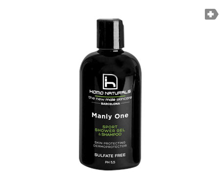 Homo Naturals Manly One gel de ducha&champú 240ml