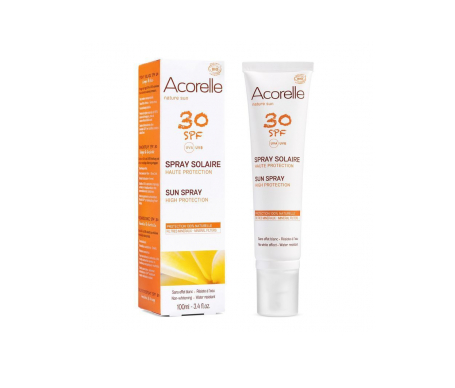 Acorelle spray protector solar SPF30+ 100ml
