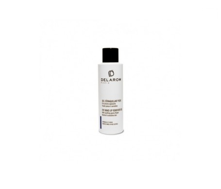 Delarom gel desmaquillante ojos 125ml