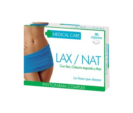Phytofarma Medical Care Lax/ Nat 30cáps