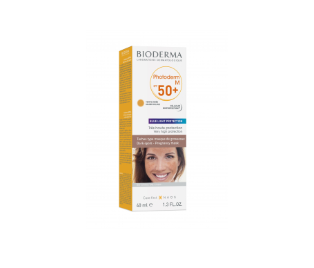 Bioderma Photoderm M SPF50+ crema color dorado 40ml