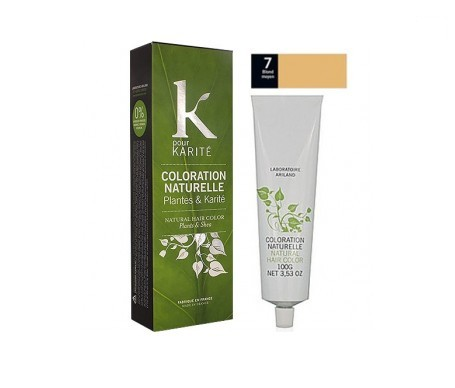 K pour Karité crema colorante N°7 color rubio medio 100g