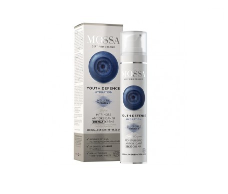 Mossa Youth Defence crema día hidratante antioxidante 50ml
