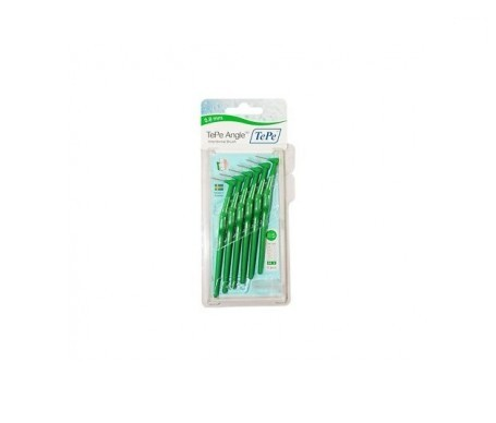 TePe® cepillo interdental  angulado 0,8mm verde