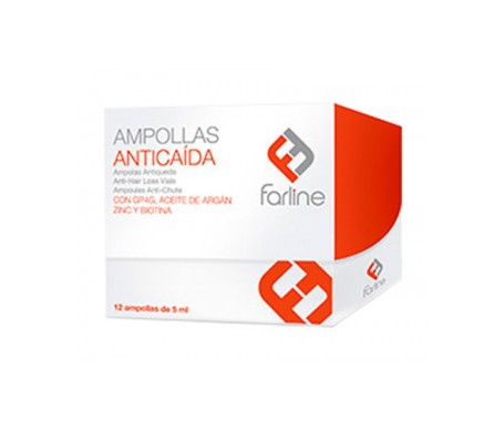 Farline ampollas anticaída 12uds