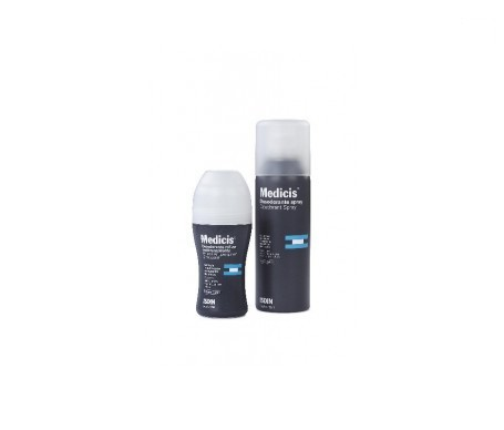 Medicis® gel de afeitar 200ml + Medicis® desodorante roll on 50ml REGALO
