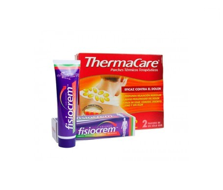 ThermaCare parches térmicos cuello 2uds + Fisiocrem solugel 60ml