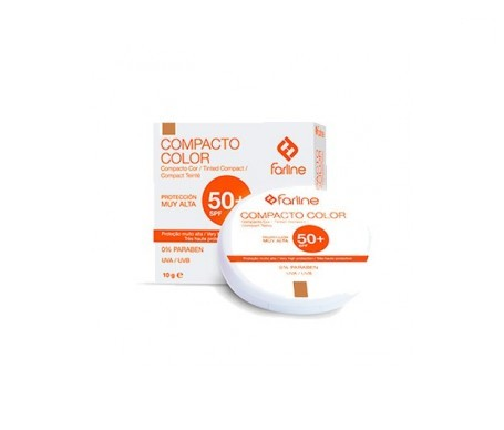 Farline Compacto Color SPF50+ 10g