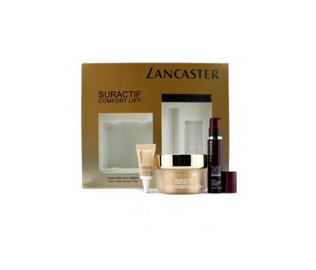 Lancaster Suractif Comfort Lift Rich Day Cream 50ml+365 Intens sérum 10ml+ Suractif Contour Eyes 3ml