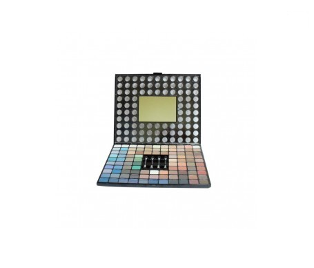 VicMartin kit maquillaje 98 sombras + 4 pinceles