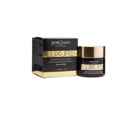 Postquam Luxury Gold crema de noche 50ml