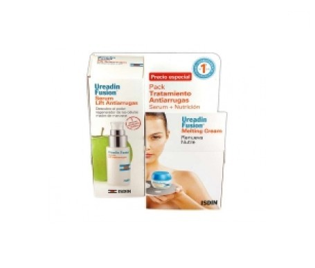Ureadin® Fusión fluid SPF30+ 50ml+ solución micelar 13ml + sérum antiedad 3ml