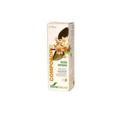Soria Natural boldo complex 03 50ml