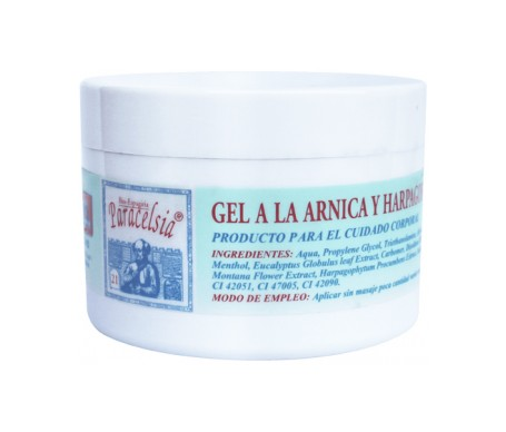 Paracelsia gel arnica y harpagofito 200ml