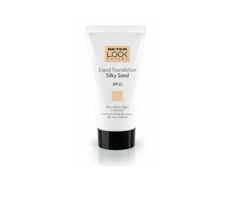Beter Liquid Foundation Silki Sand crema