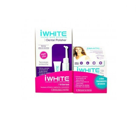 Iwhite pack cepillo pulidor + dentífrico 20ml + Iwhite Instant2 molde dental 6uds