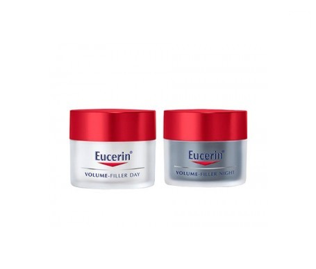 Eucerin® Volum Filler crema de dia piel normal/mixta 50ml + crema de noche 50ml