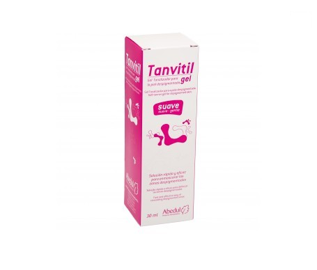 Tanvitil gel suave 30ml