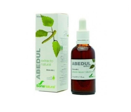 Soria Natural extracto de abedul 50ml