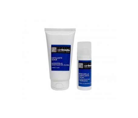 Can Boada mascarilla purificante facial 150ml + exfoliante 125ml