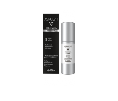 Aspolvit Platinum crema facial 30ml