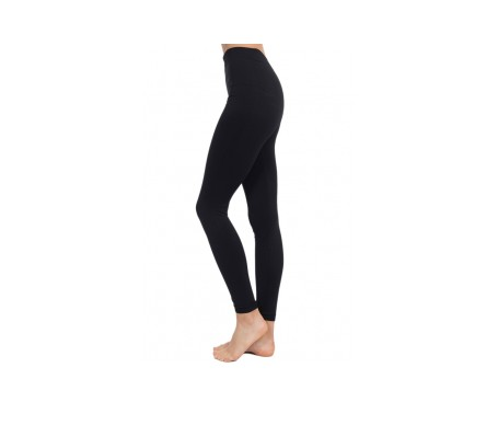 Anaissa leggings push up anticelulítico color negro talla-S