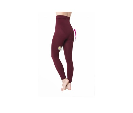 Anaissa legging push up anticelulítico Emana140 color granate Talla-L