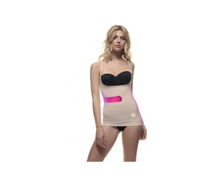 Anaissa top up reductor efecto 3D con tecnología Biotech color beige Talla-L