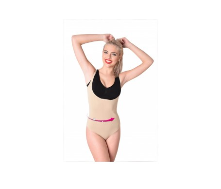 Anaissa body up reductor con forma de pecho efecto 3D color beige Talla-S