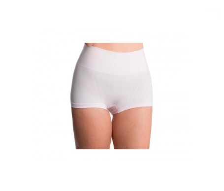 Anaissa culotte vientre plano efecto 3D push up Biotech color blanco Talla-M
