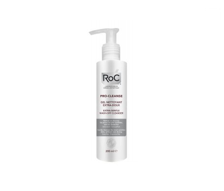 ROC® Pro-cleanse gel desmaquillante extra-suave 200ml
