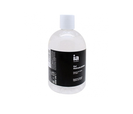 Interapothek gel hidroalcóholico 500ml