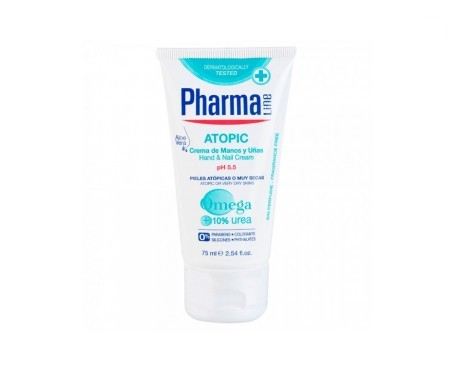 Pharmaline Atopic crema de manos y uñas 75ml