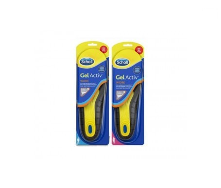 Scholl Gel Activ Profesional Hombre + Mujer