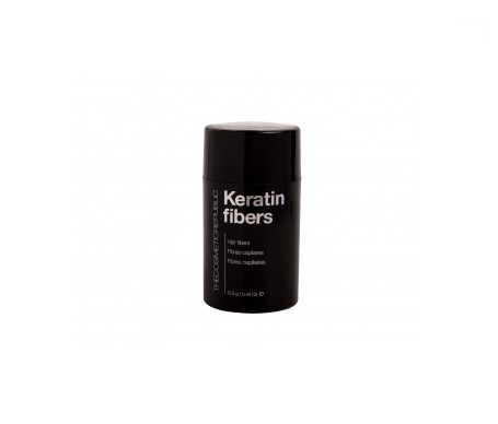 The Cosmetic Republic Keratin fibras capilares negro 12,5g