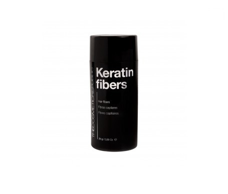 The Cosmetic Republic Keratin Pro fibras capilares negro 25g
