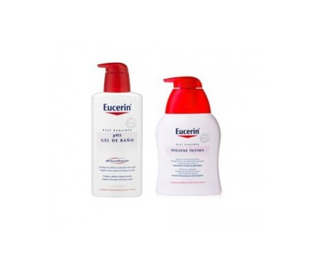 Eucerin® gel de baño pH5 1l + gel higiene íntima 250ml