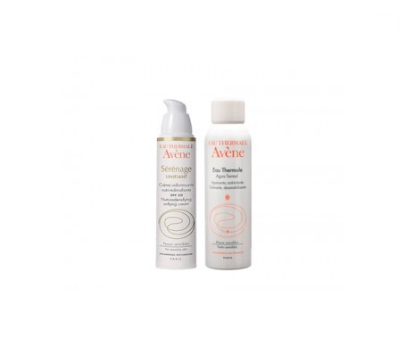 Avène Serenage Unifiant crema día 40ml + agua termal 50ml
