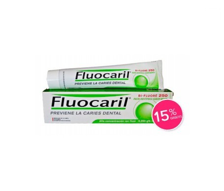 Fluocaril® Bi-Fluoré 250 125ml 15% GRATIS