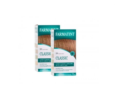 Farmatint 5N color castaño claro 135ml+135ml