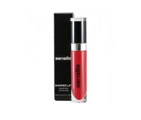 Sensilis Shimmer lip gloss color bordeaux 6,5ml