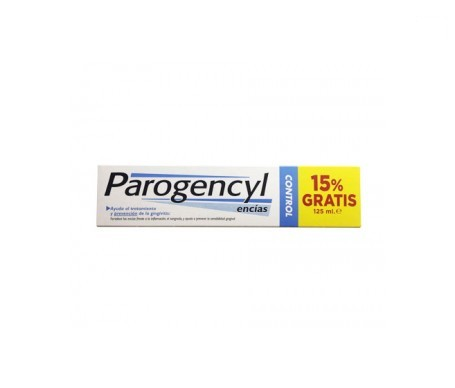 Parogencyl Control pasta dental 125ml+15%