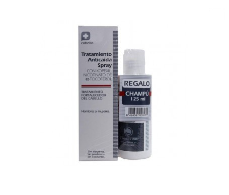 Parabotica tratamiento anticaída spray 125ml