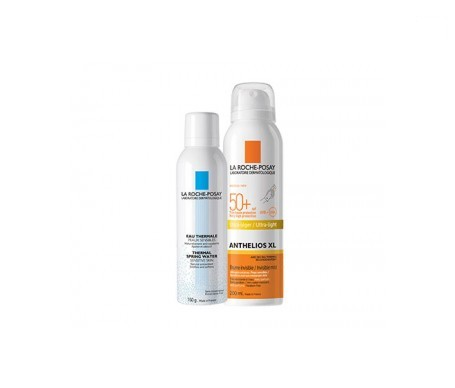 La Roche-Posay agua termal 150ml + Anthelios SPF50+ bruma invisible 200ml