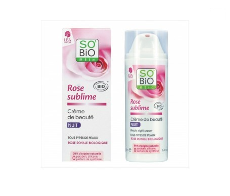 So´bio Étic Rose Sublime crema de noche 50ml