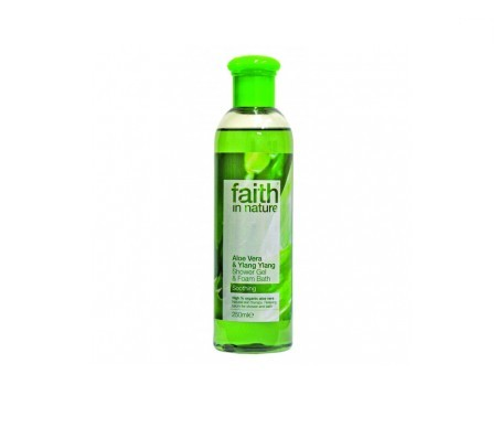 Faith In Nature gel ducha aloe vera & ylang ylang 250ml