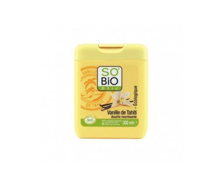 So´bio Étic gel de ducha vainilla de tahití 300ml