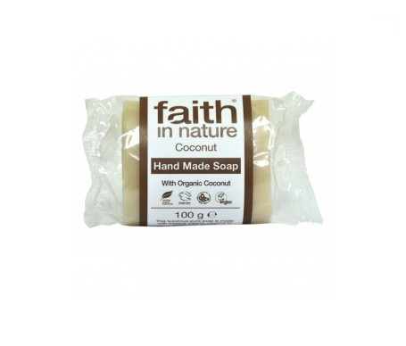 Faith In Nature jabón de coco 100g